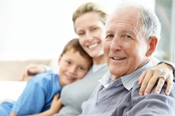 Good relationships with relatives and visitors